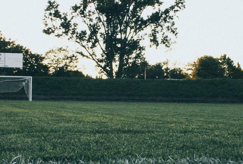 Φωτογραφία από γήπεδο ποδοσφαίρου