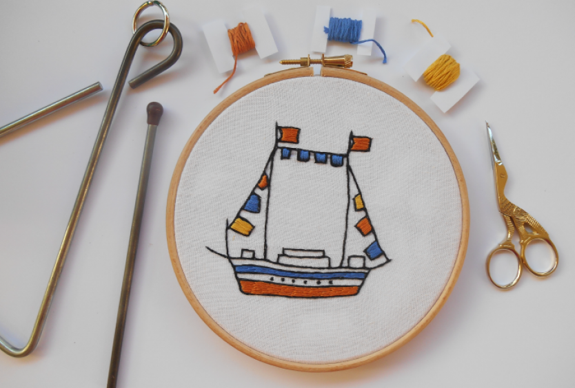 Members Events: Creative Embroidery | Christmas stitches at the SNFCC - Εικόνα