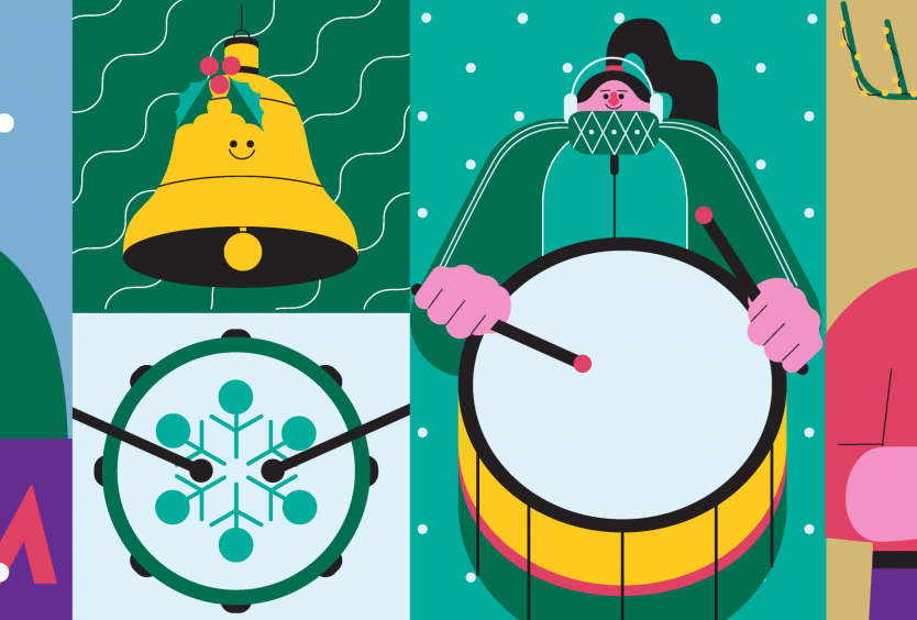 Δημιουργικό για τη δραστηριότητα Χριστουγεννιάτικος Κύκλος Κρουστών για Οικογένειες