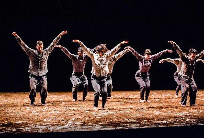 Φωτογραφία απο παράσταση των Vertigo Dance Company-one. One & One