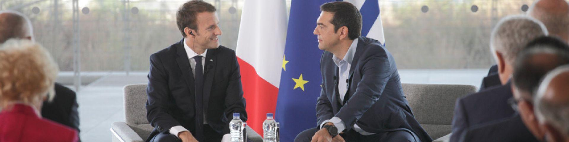 Emmanuel Macron: Το Κέντρο Πολιτισμού Ίδρυμα Σταύρος Νιάρχος «σύμβολο μιας νέας ελληνικής φιλοδοξίας» - Εικόνα