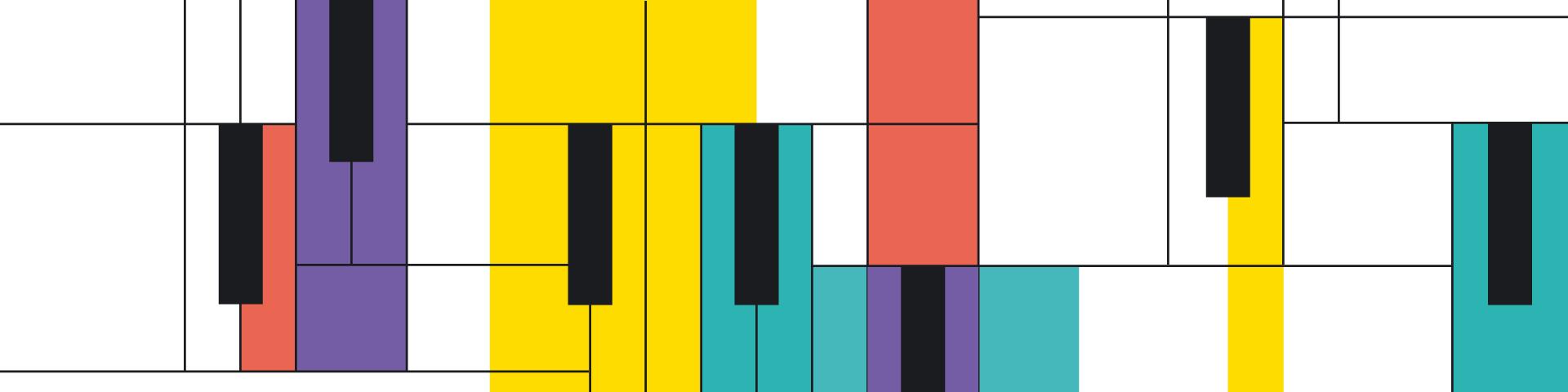 Εικαστικό για την ηχογραφημένη συναυλία του Stefanos Andreadis Flying Jazz Quartet