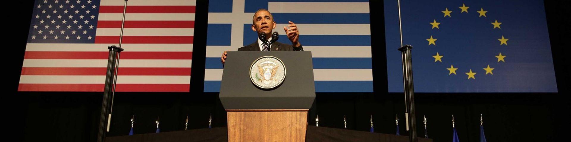 Ομιλία του Προέδρου των ΗΠΑ, Barack Obama, στο ΚΠΙΣΝ