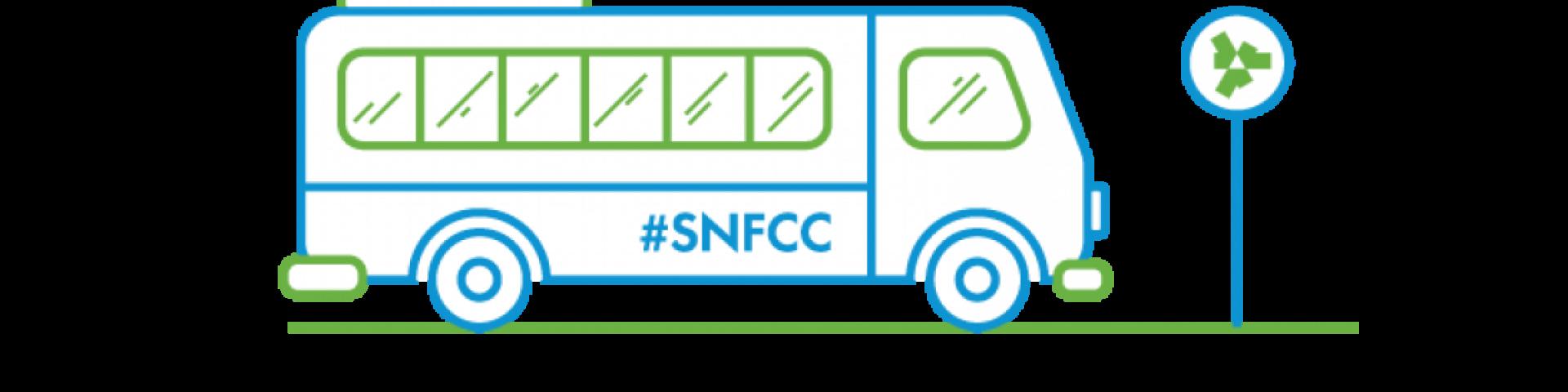 SNFCC shuttle bus suspension - Εικόνα