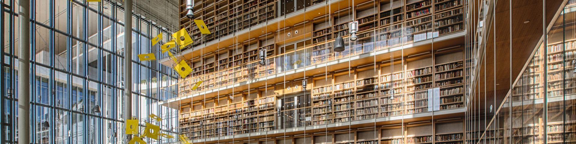 Φωτογραφία από την Υποδοχή της Εθνικής Βιβλιοθήκης της Ελλάδος (ΕΒΕ)
